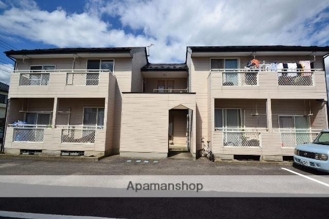 栃木県那須塩原市、西那須野駅徒歩23分の築25年 2階建の賃貸アパート