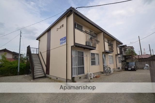 栃木県那須塩原市、西那須野駅徒歩5分の築31年 2階建の賃貸アパート