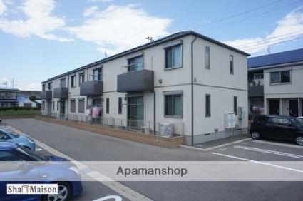栃木県那須塩原市、西那須野駅徒歩4分の築6年 2階建の賃貸アパート