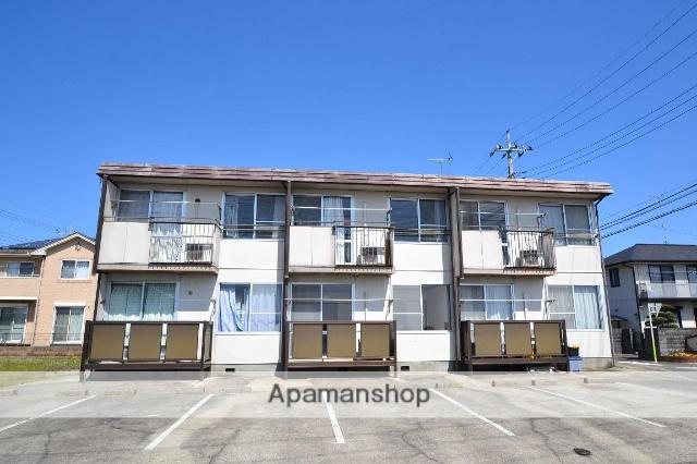 栃木県那須塩原市、西那須野駅徒歩44分の築32年 2階建の賃貸アパート
