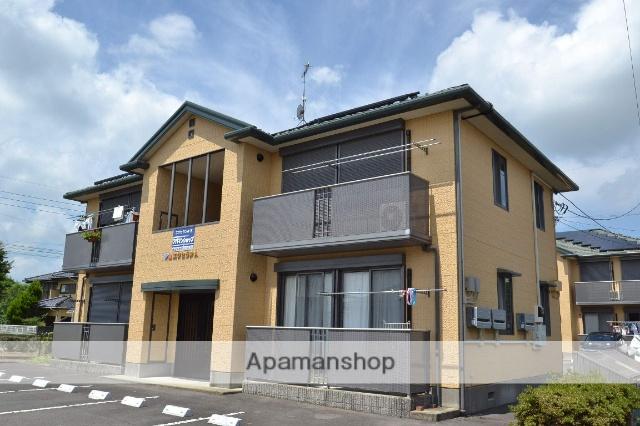 栃木県那須塩原市、西那須野駅徒歩21分の築18年 2階建の賃貸アパート