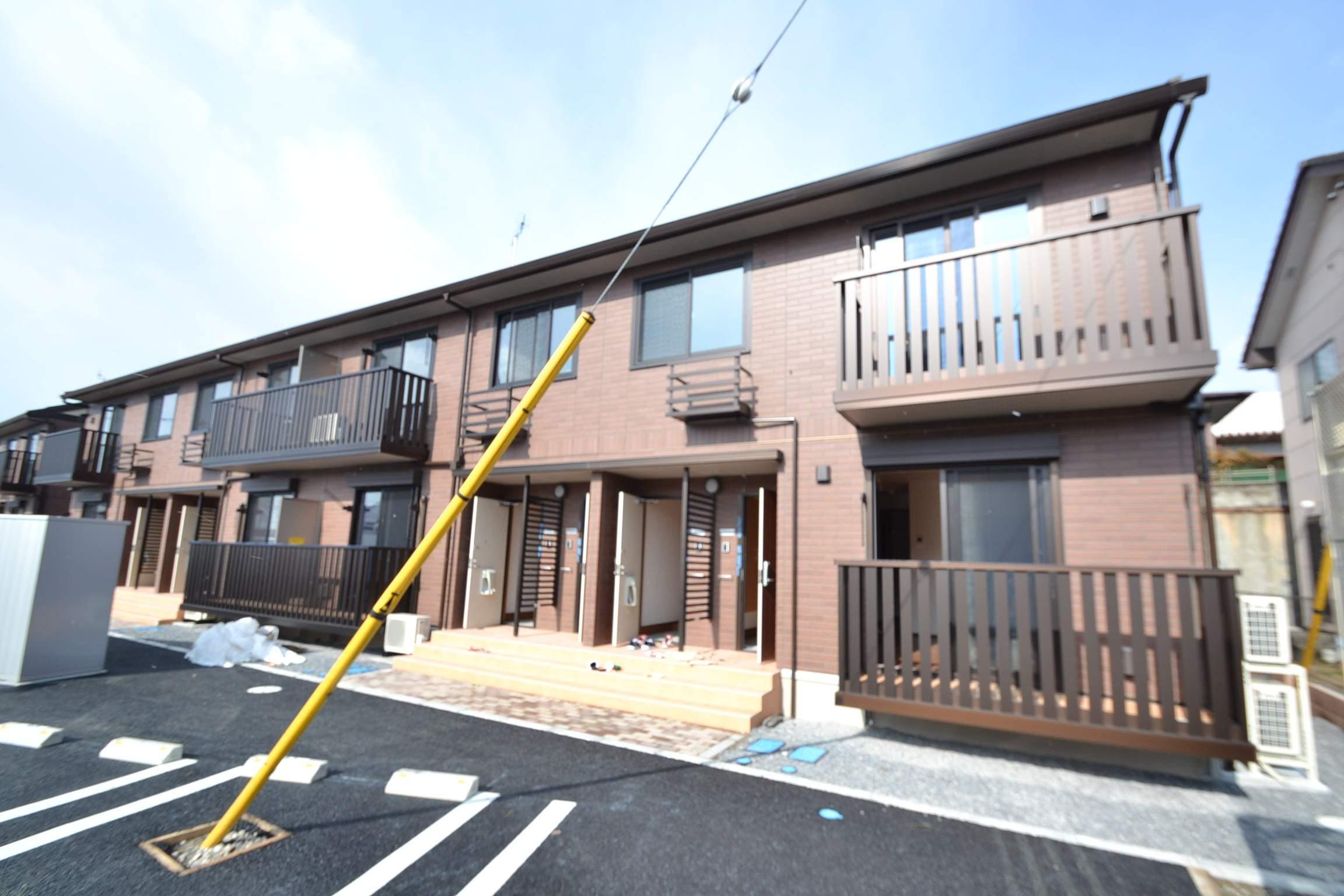栃木県那須塩原市、西那須野駅徒歩8分の築3年 2階建の賃貸アパート