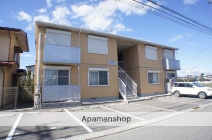栃木県那須塩原市、西那須野駅徒歩7分の築8年 2階建の賃貸アパート