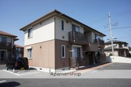 栃木県那須塩原市、西那須野駅徒歩28分の築11年 2階建の賃貸アパート