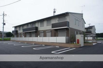 栃木県那須塩原市、西那須野駅市営バスバス3分清峰高前下車後徒歩13分の築1年 2階建の賃貸アパート