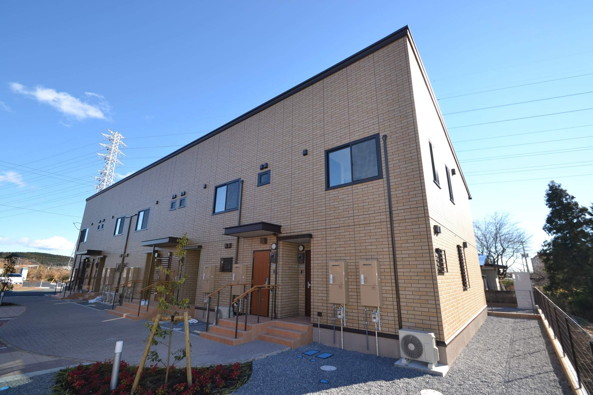 栃木県那須塩原市の新築 2階建の賃貸アパート