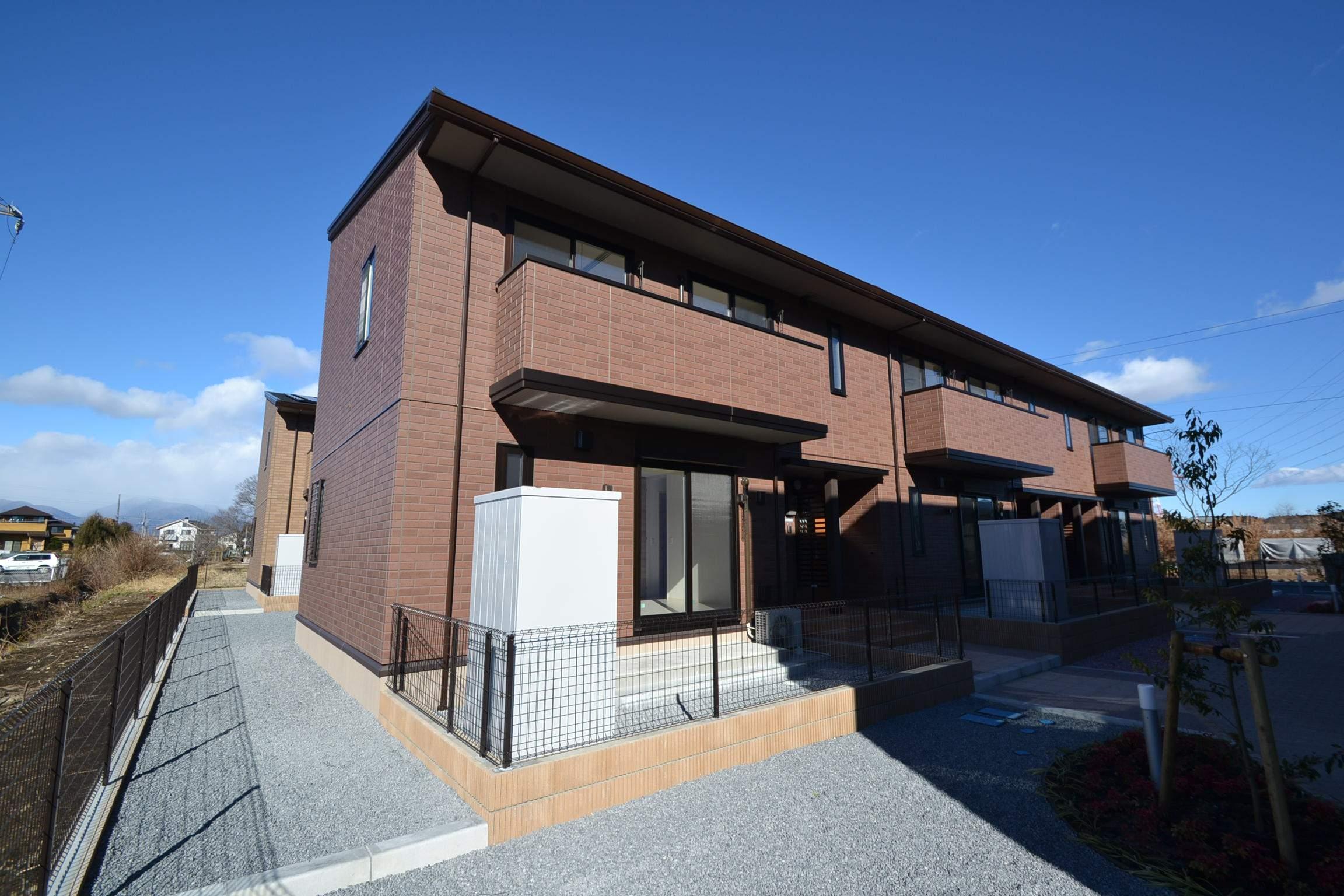 栃木県那須塩原市、西那須野駅徒歩17分の新築 2階建の賃貸アパート