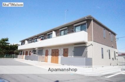 栃木県那須塩原市、西那須野駅徒歩6分の築4年 2階建の賃貸アパート