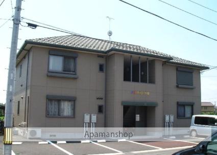 栃木県那須塩原市、西那須野駅東野交通バス4分石林入口下車後徒歩10分の築17年 2階建の賃貸アパート