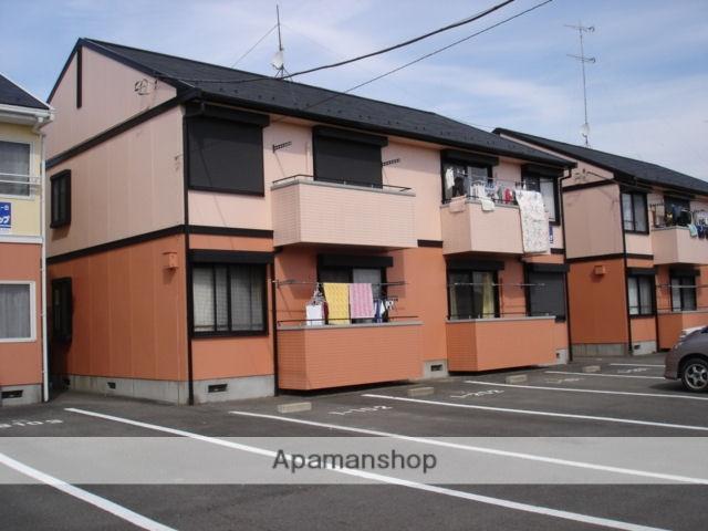 栃木県那須塩原市、西那須野駅徒歩22分の築23年 2階建の賃貸アパート