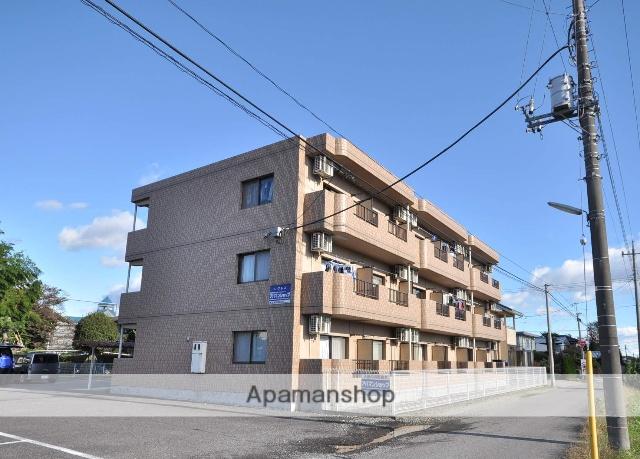 栃木県那須塩原市、西那須野駅徒歩18分の築20年 3階建の賃貸マンション
