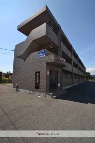 栃木県那須塩原市、西那須野駅徒歩6分の築17年 3階建の賃貸マンション