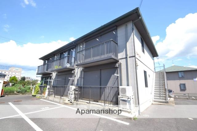 栃木県那須塩原市、西那須野駅徒歩25分の築13年 2階建の賃貸アパート