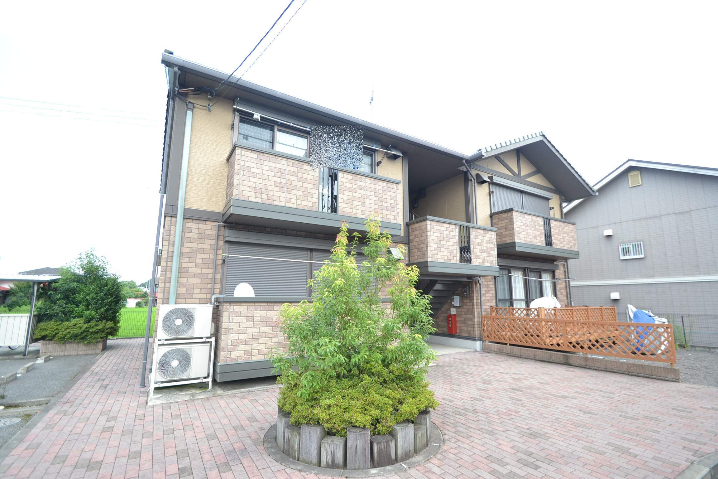 栃木県那須塩原市、西那須野駅徒歩13分の築12年 2階建の賃貸アパート