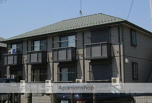 栃木県那須塩原市、西那須野駅徒歩15分の築17年 2階建の賃貸アパート