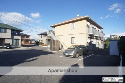 栃木県大田原市の築12年 2階建の賃貸アパート