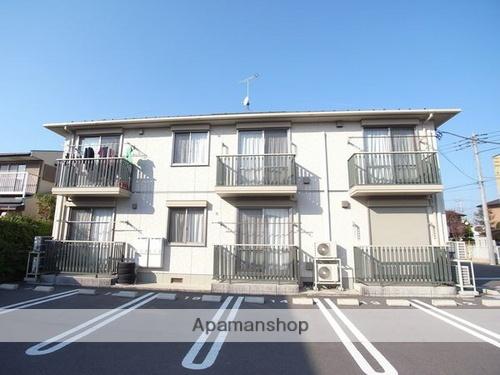 栃木県大田原市、西那須野駅市営バスバス11分美原1丁目下車後徒歩4分の築10年 2階建の賃貸アパート