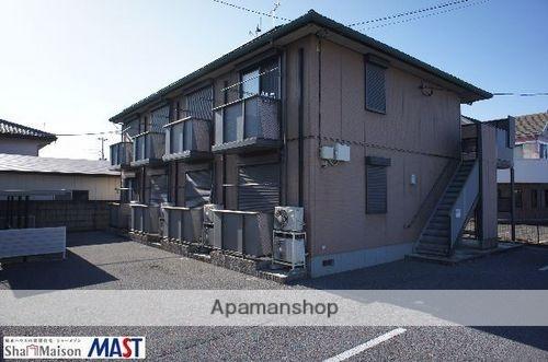 栃木県大田原市、西那須野駅徒歩44分の築13年 2階建の賃貸アパート