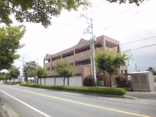 栃木県大田原市、西那須野駅大田原市営バスバス10分図書館入口下車後徒歩1分の築7年 3階建の賃貸マンション
