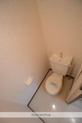 コーポしんとみB[1K/26.49m2]のトイレ