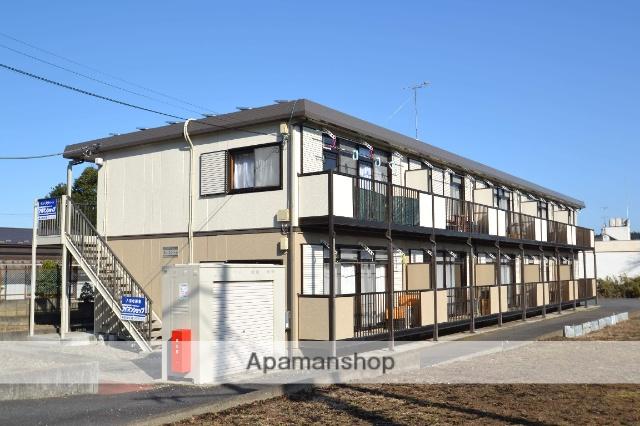 栃木県矢板市、片岡駅徒歩8分の築20年 2階建の賃貸アパート