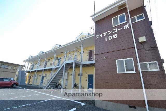 栃木県矢板市、矢板駅徒歩15分の築27年 2階建の賃貸アパート