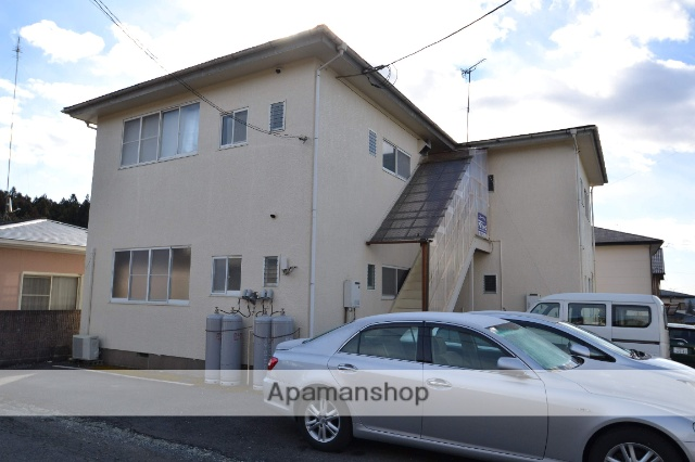 栃木県矢板市、矢板駅徒歩18分の築25年 2階建の賃貸アパート