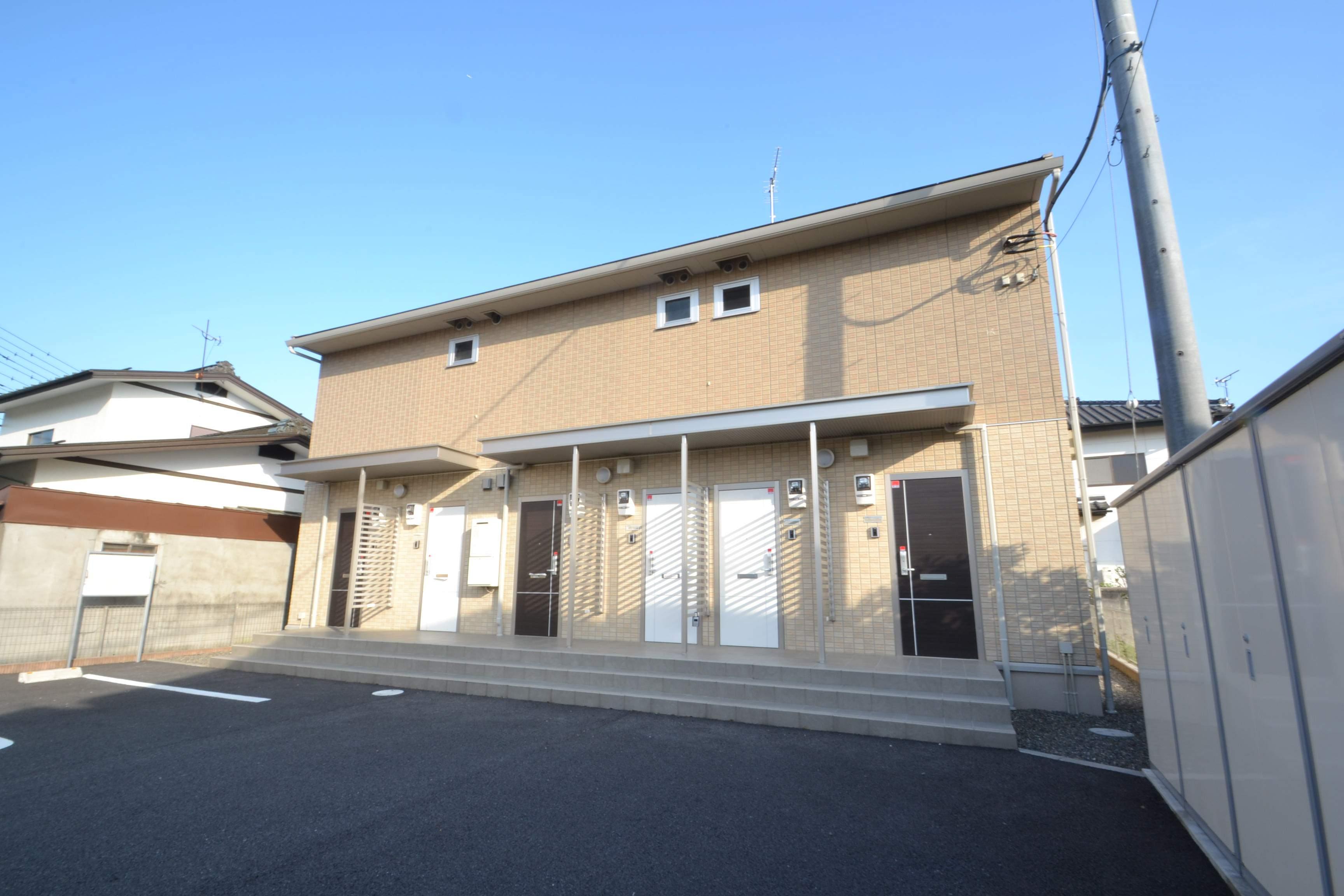 栃木県矢板市、矢板駅徒歩4分の築3年 2階建の賃貸アパート