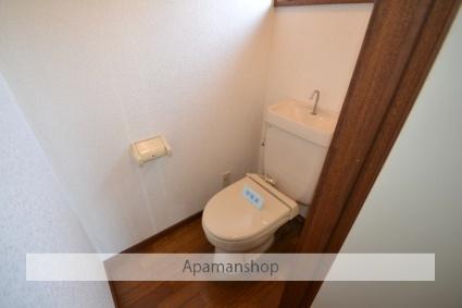 クレストフジ[1K/33.05m2]のトイレ