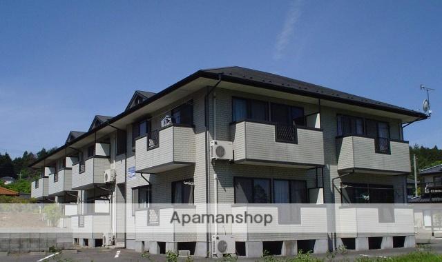 栃木県矢板市、片岡駅徒歩6分の築23年 2階建の賃貸アパート