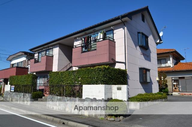 栃木県矢板市、矢板駅徒歩4分の築20年 2階建の賃貸アパート