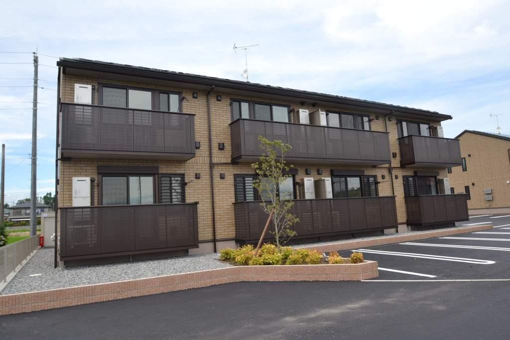 栃木県那須塩原市、黒磯駅徒歩30分の新築 2階建の賃貸アパート