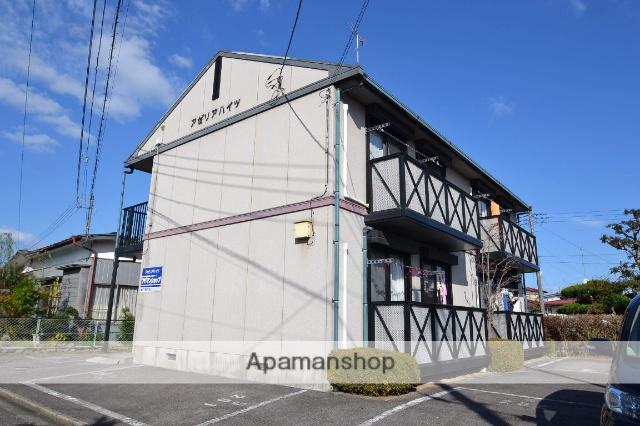 栃木県那須塩原市、黒磯駅徒歩23分の築22年 2階建の賃貸アパート