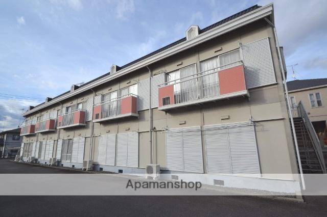 栃木県塩谷郡高根沢町、宝積寺駅徒歩40分の築24年 2階建の賃貸アパート
