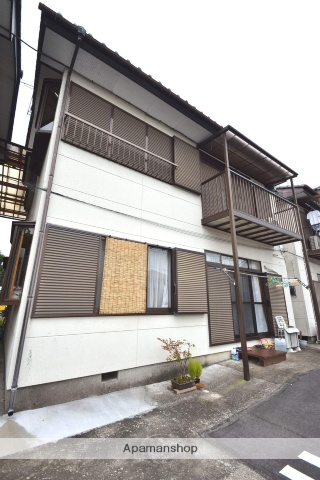 栃木県さくら市、氏家駅徒歩15分の築23年 2階建の賃貸アパート