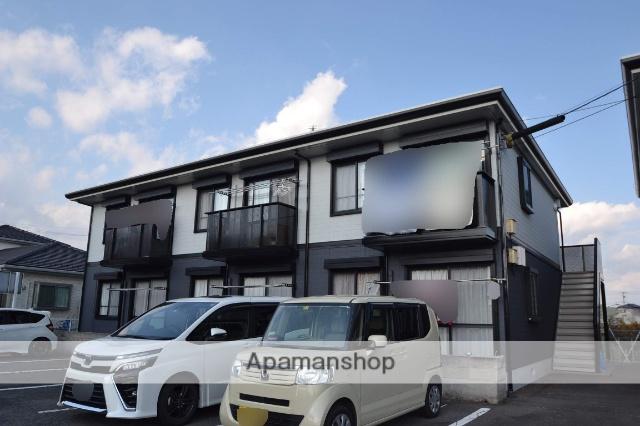 栃木県さくら市、氏家駅徒歩35分の築21年 2階建の賃貸アパート