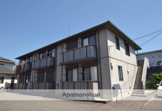 栃木県さくら市、氏家駅徒歩10分の築13年 2階建の賃貸アパート