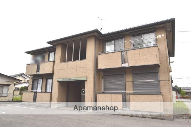 栃木県さくら市、氏家駅徒歩12分の築16年 2階建の賃貸アパート