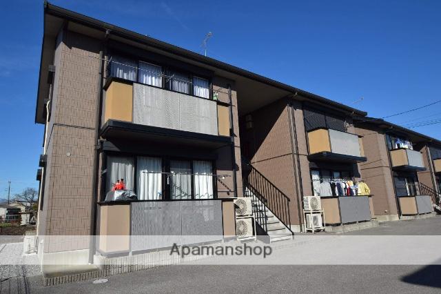 栃木県さくら市、氏家駅徒歩45分の築16年 2階建の賃貸アパート