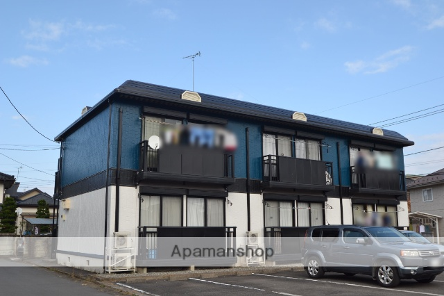 栃木県さくら市、氏家駅関東バスバス10分馬場下車後徒歩6分の築20年 2階建の賃貸アパート