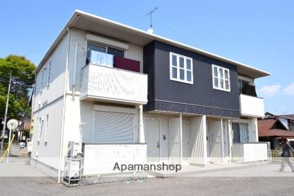栃木県さくら市、氏家駅徒歩8分の築7年 2階建の賃貸アパート