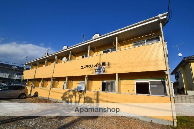 栃木県さくら市、氏家駅徒歩18分の築24年 2階建の賃貸アパート