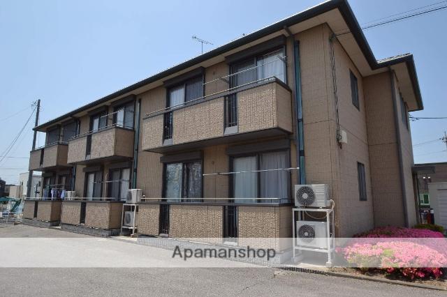 栃木県さくら市、氏家駅徒歩11分の築16年 2階建の賃貸アパート