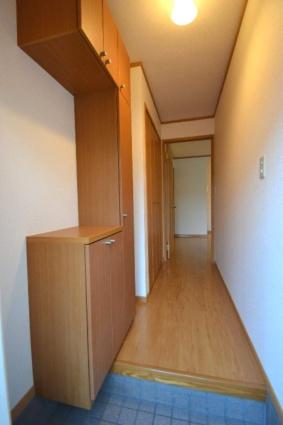 メゾンド・ファミーユC[2DK/42.77m2]の玄関