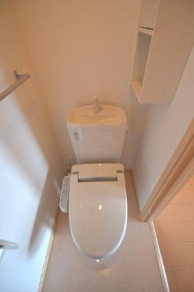 プラシードD[2DK/42.98m2]のトイレ