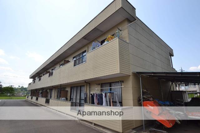 栃木県さくら市、氏家駅徒歩110分の築19年 2階建の賃貸アパート