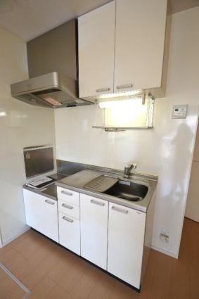 グレイスコート清原台 C[1LDK/34.48m2]のキッチン