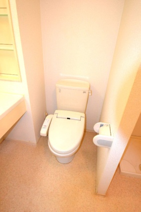 グレイスコート清原台 C[1LDK/34.48m2]のトイレ