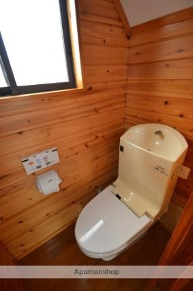 川上アパートB棟[2LDK/53.8m2]のトイレ