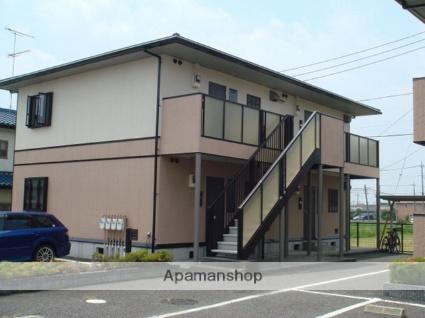 栃木県小山市、小山駅徒歩30分の築17年 2階建の賃貸アパート